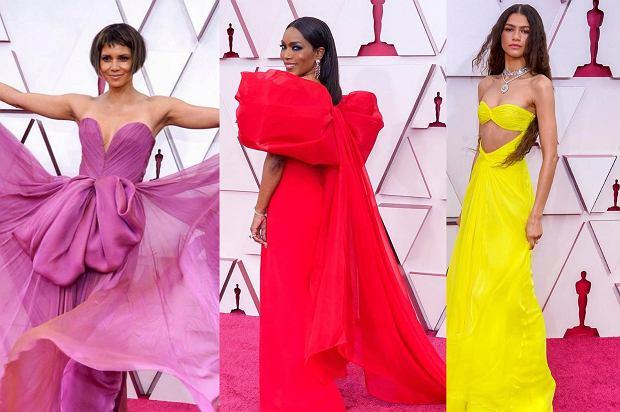"""Oscary 2021: gwiazdy wracają do """"starego stylu"""". Wybieramy najlepsze stylizacje, o których mówi dziś cały świat!"""