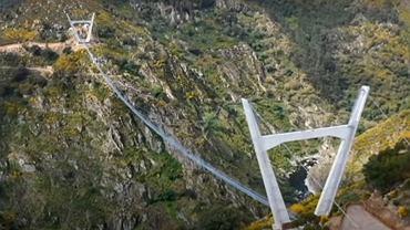 Wiszący most w Portugalii