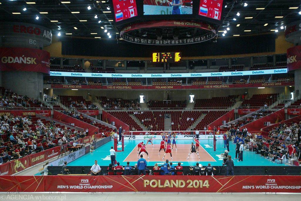 Ergo Arena - arena MŚ w siatkówce