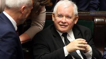 Antoni Macierewicz , Beata Mazurek  i Jarosław Kaczyński