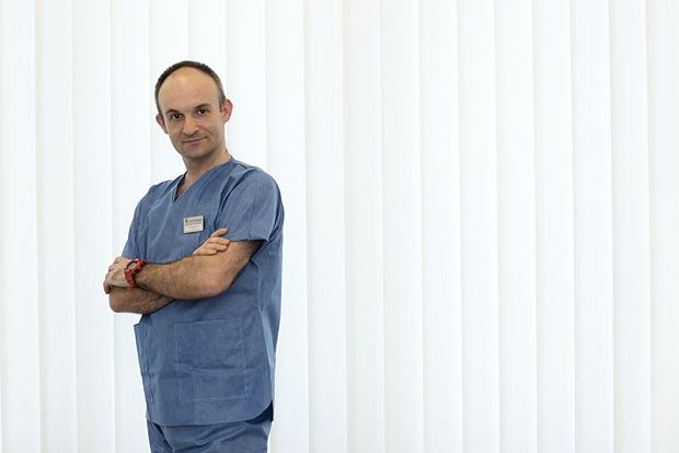 Dr Wojciech Sierka, embriolog z Kliniki Leczenia Niepłodności i Diagnostyki Prenatalnej Gyncentrum w Katowicach
