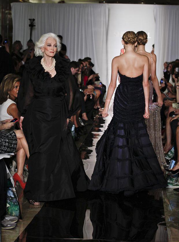 Carmen Dell'Orefice - poznajcie najstarszą wciąż pracująca modelkę na świecie