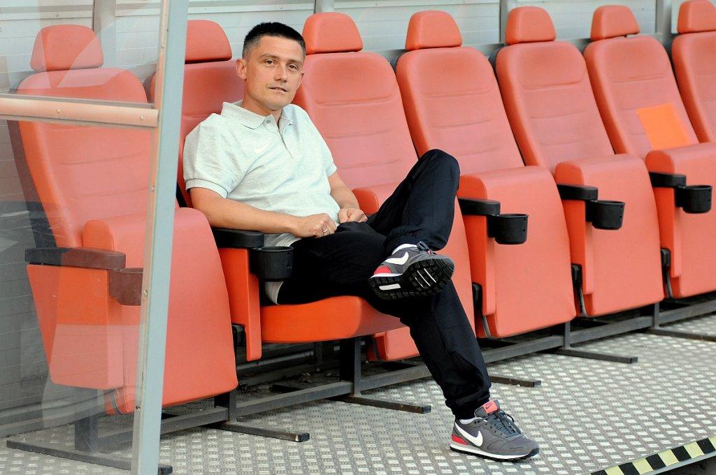 Mariusz Rumak jako trener Lecha Poznań