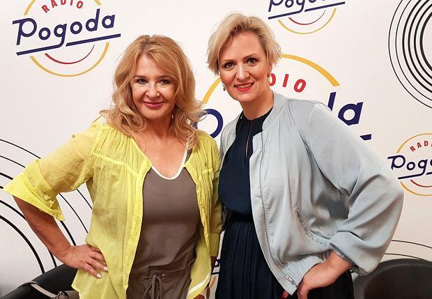Majka Jeżowska i Anna Stachowska w Radiu Pogoda