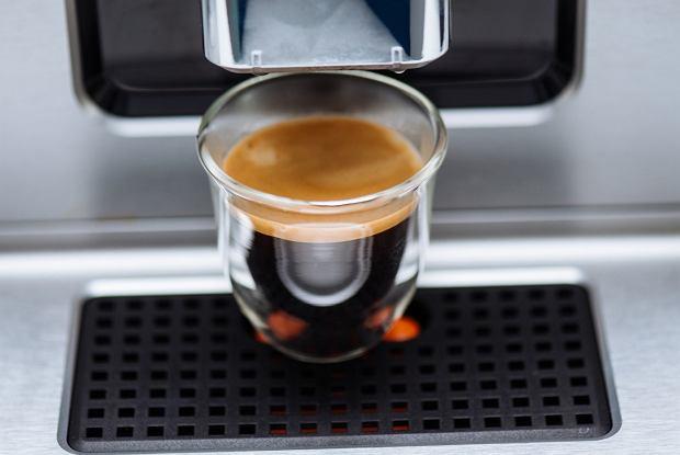 Espresso z ekspresu Krups