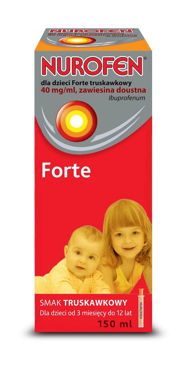 Nurofen dla dzieci Forte 150ml truskawkowy