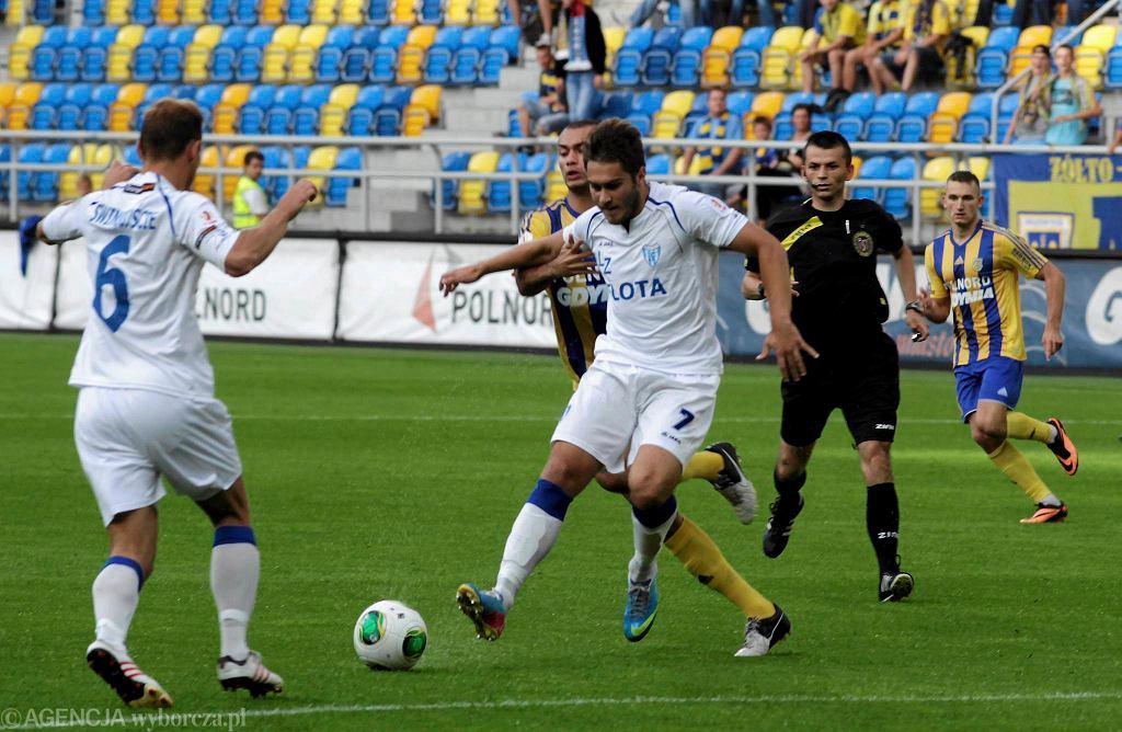 Flota (białe koszulki) kontynuuje złą passę w lidze