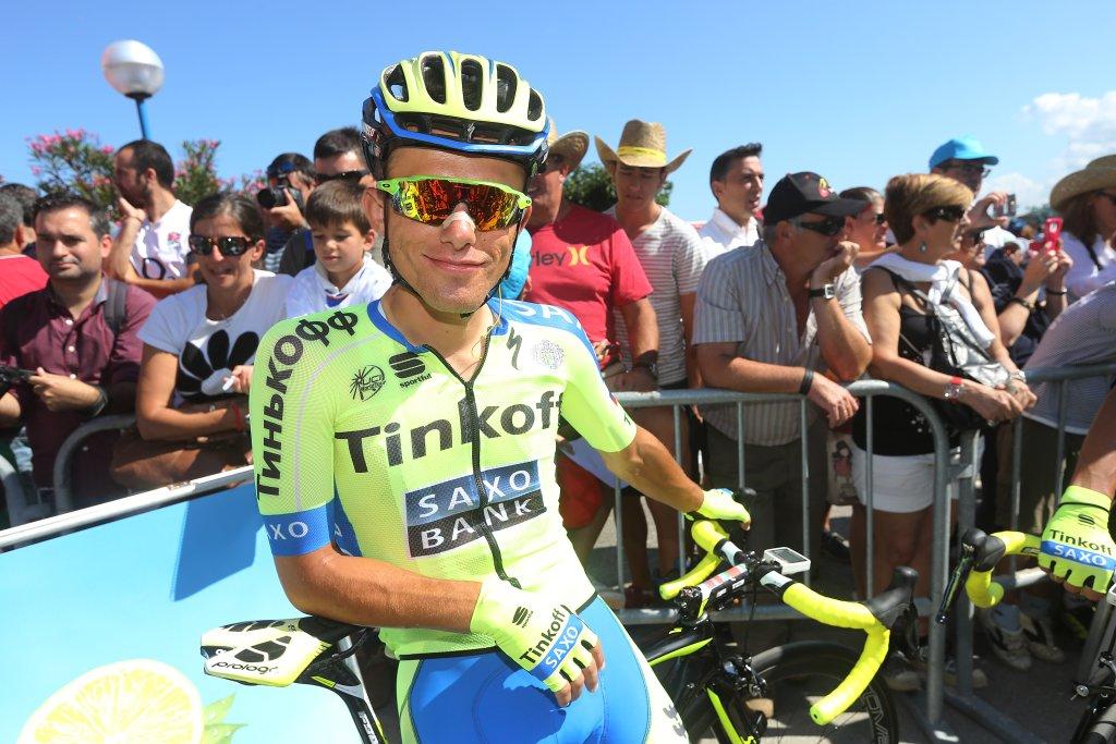 Vuelta Espana. Rafał Majka