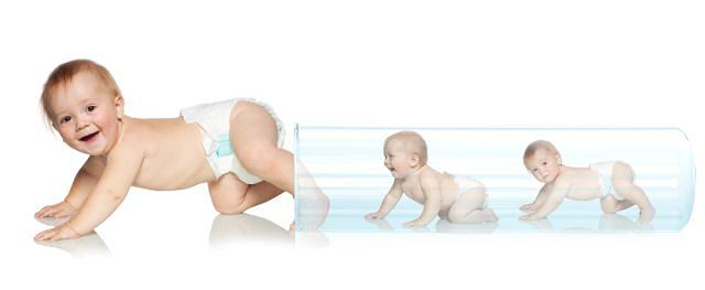 Ciąża, do której doszło pozaustrojowo, w zasadzie nie różni się od tej samoistnej. Częściej jednak kończy się cesarskim cięciem