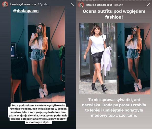 Doda, Anna Lewandowska, Karolina Domaradzka