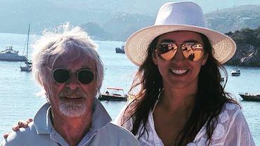 Bernie i Fabiana Ecclestone