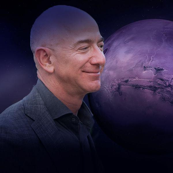Jeff Bezos - grafika