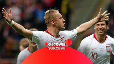 24.03.2019 Warszawa. Kamil Glik podczas meczu eliminacji Mistrzostw Europy Polska - Łotwa