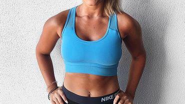 trenerka fitness dotknięta łuszczycą