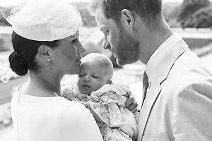 Meghan Markle, książę Archie, książę Harry