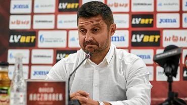 Marcin Kaczmarek, trener Widzewa