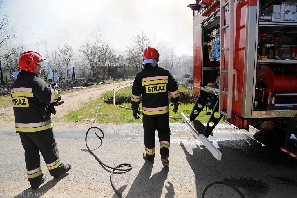 Straż pożarna [zdjęcie ilustracyjne]