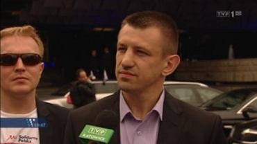 """Tomasz Adamek został zapytany o """"wartości aksjologiczne"""", których chce bronić w Brukseli"""