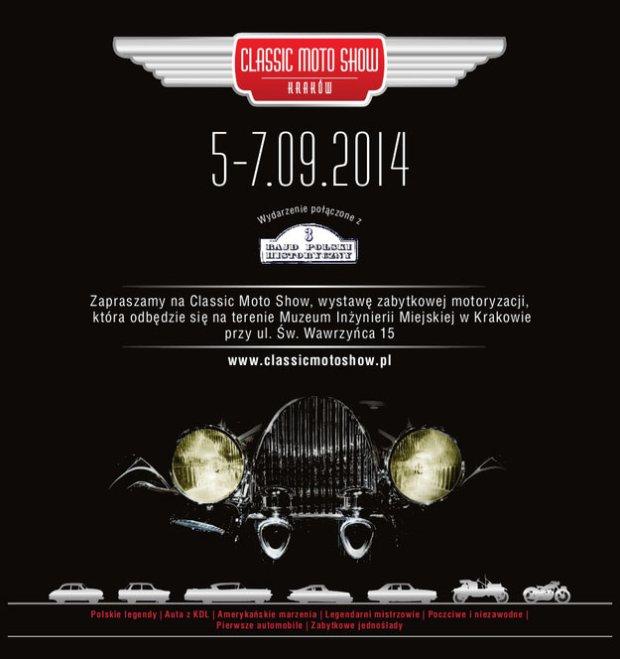 Classic Moto Show Kraków 2014
