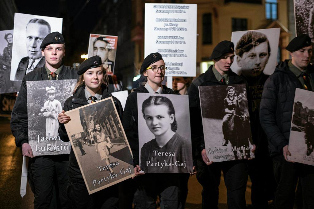Marsz pamięci o żołnierzach wyklętych 'Anioły wyklęte'