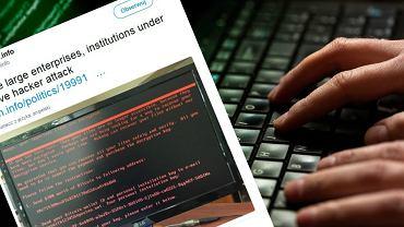 Atak hakerski w Europie