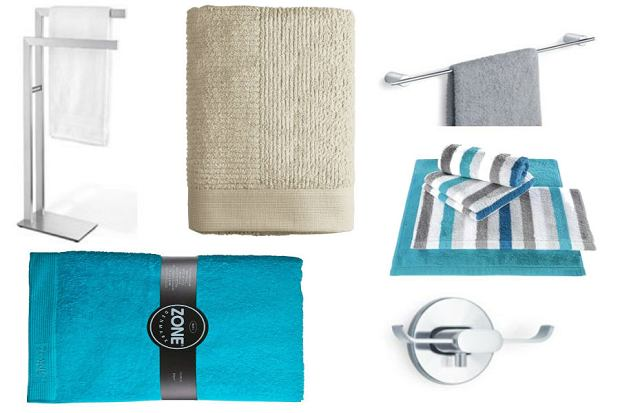 Wieszaki do łazienki i ręczniki