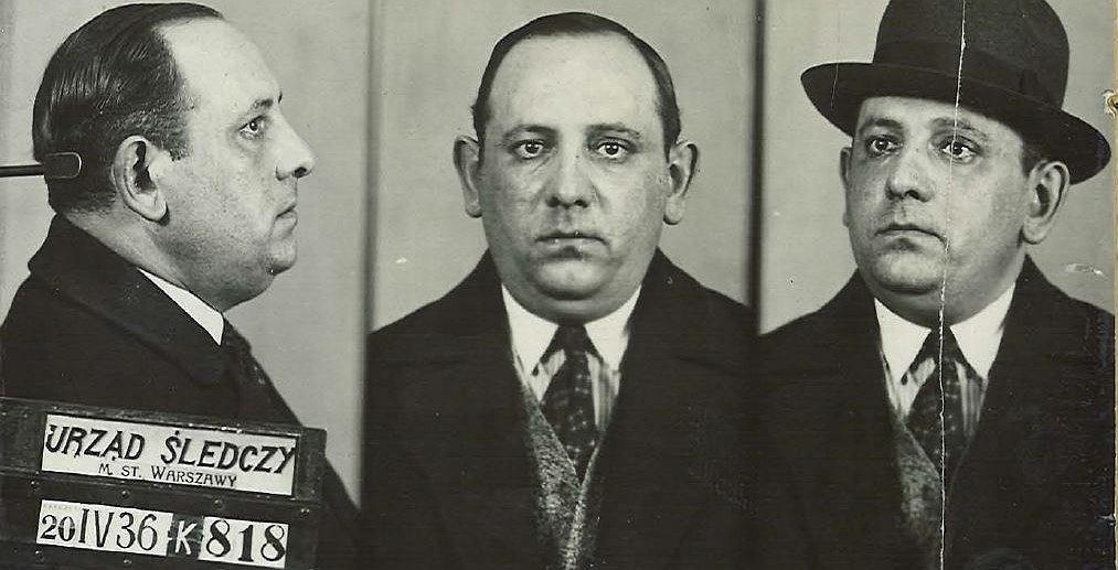 'Napoleon' zatrzymany w Warszawie w 1936 roku (Domena publiczna)