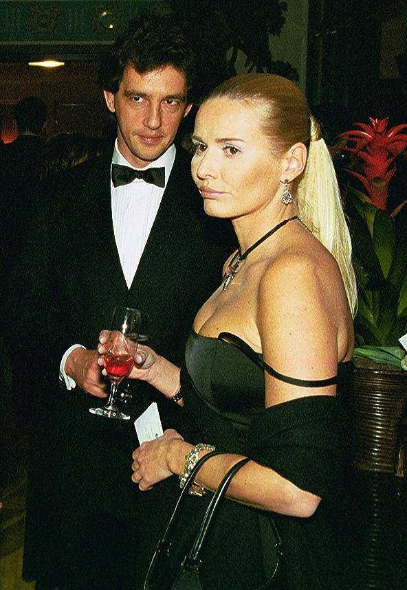 Hanna Lis (wtedy Smoktunowicz) na Balu Dziennikarzy, Warszawa 2003.