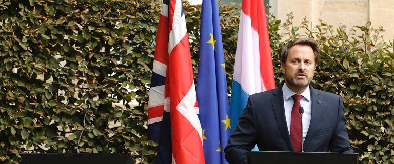 Boris Johnson uciekł z konferencji przed gwizdami. Premier Luksemburga nie wytrzymał [WIDEO]