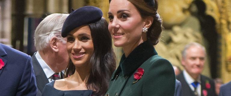 Meghan Markle i księżna Kate na uroczystościach państwowych. Udane stylizacje?