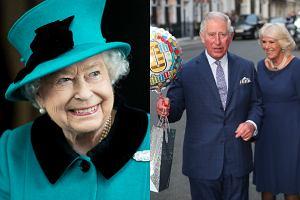 Królowa Elżbieta, książę Karol i księżna Camilla