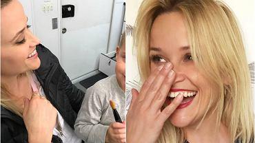 """Reese Witherspoon w środę wrzuciła do sieci zdjęcie swojego najmłodszego syna, Tennessee. Chłopiec - podobnie jak reszta jego rodzeństwo - jest niesamowicie podobny do swojej mamy, a do tego niezwykle uroczy. Jednak nie tylko on skradł nasze serca. Brian Austin Green niedawno powiedział o swojej ukochanej, Megan Fox, że """"wydaje na świat piękne dzieci"""". I miał rację! Kto jeszcze znalazł się na naszej subiektywnej liście najbardziej uroczych dzieci show-biznesu? Przekonajcie się sami."""
