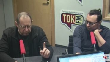 """Wojciech Maziarski i Rafał Woś w """"Poranku Radia TOK FM"""""""