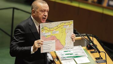 Recep Tayyip Erdogan w ONZ, 24 września 2019