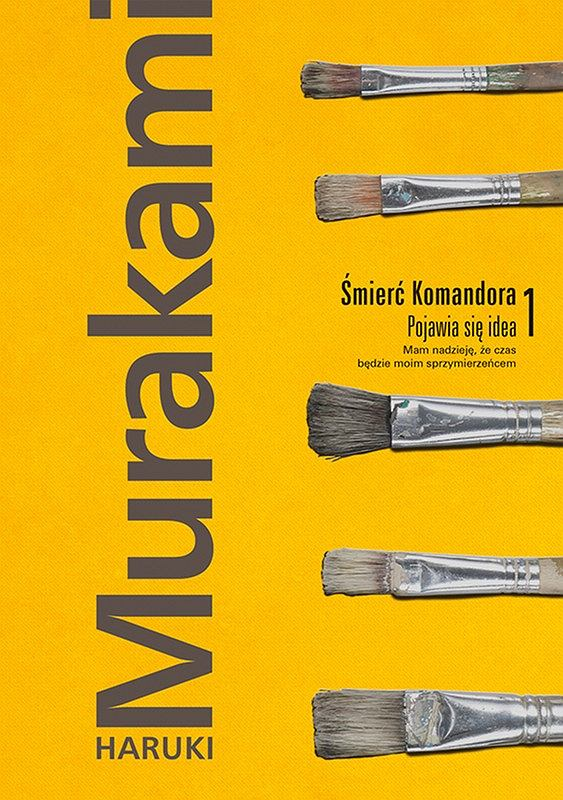 Okładka książki 'Śmierć Komandora. Tom 1', Haruki Murakami