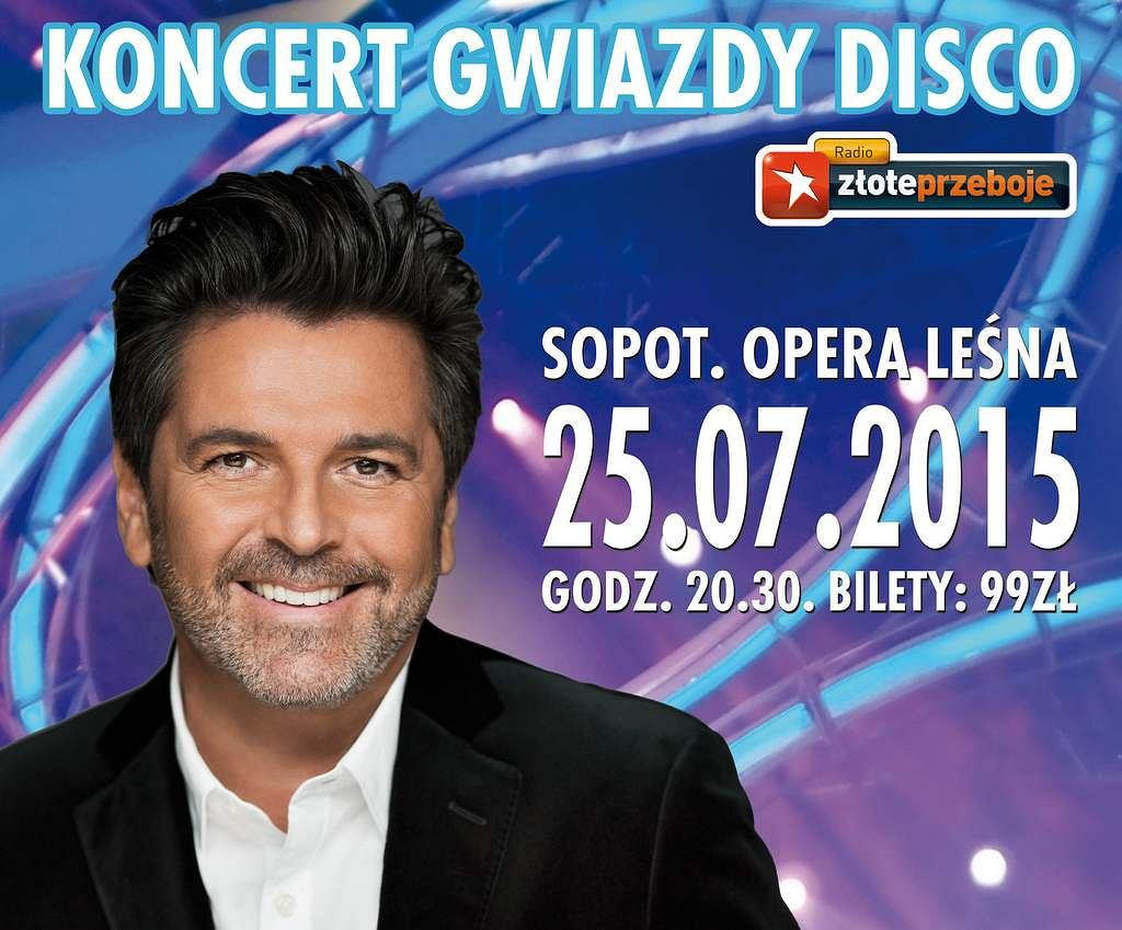 25.07 - Thomas Anders & Modern Talking Band - Opera Leśna w Sopocie.