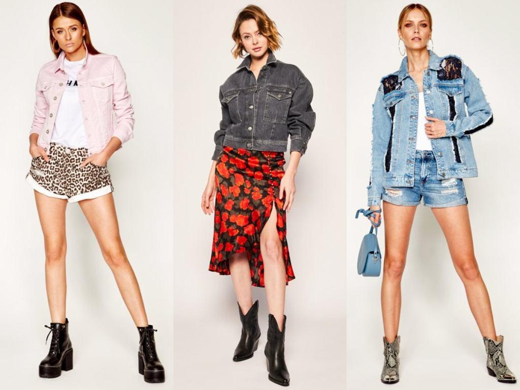 Kurtki jeansowe jesień 2020