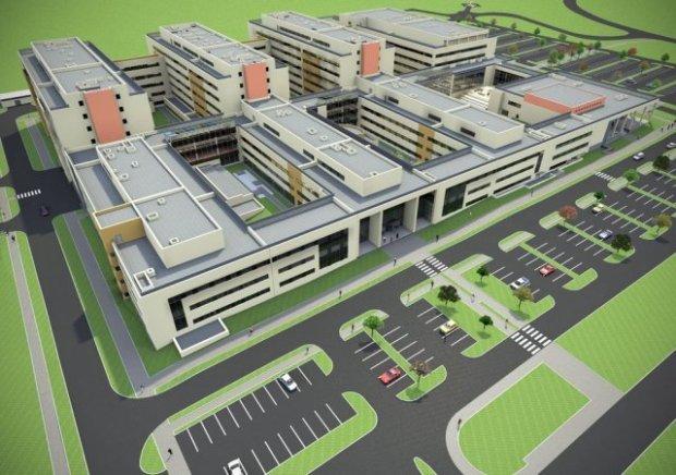 Najdroższa krakowska inwestycja: nowy szpital w Prokocimiu