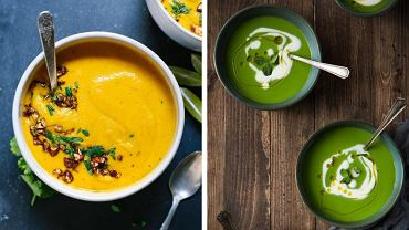 Zupy-kremy z warzyw są zdrowe i bardzo sycące.