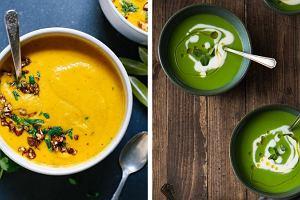 5 nowych przepisów na ekspresowe, lekkie zupy-kremy z warzyw