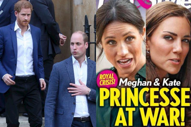 Harry i William od tygodni nie rozmawiają ze sobą?