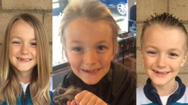 Vinny Desautels przez 2 lata zapuszczał włosy, aby pomóc innym dzieciom