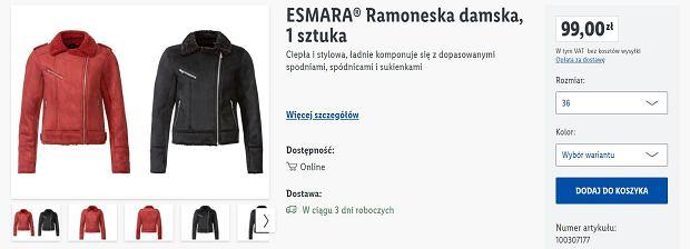 Lidl sprzedaje supermodną kurtkę typu ramoneska za mniej niż 100 zł. To hit na ten sezon i must have w każdej szafie!