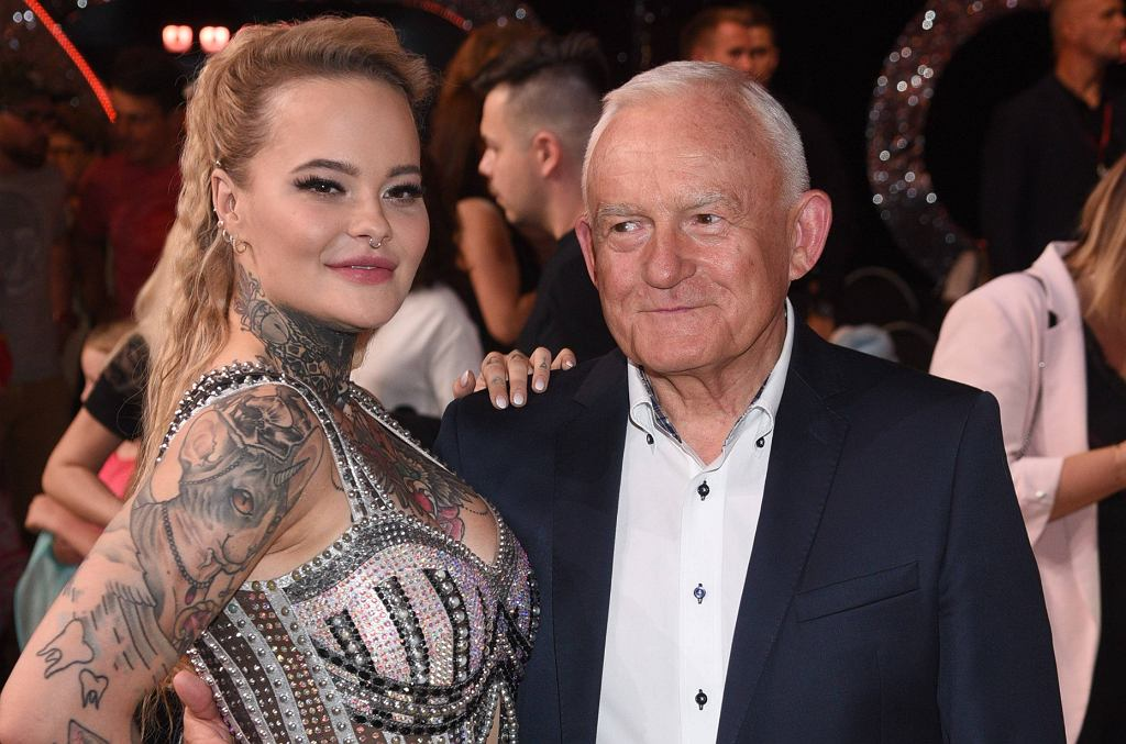 Monika Miller z dziadkiem