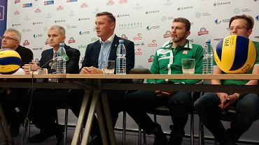 Konferencja prasowa Indykpolu AZS Olsztyn przed inauguracją sezonu 2015/2016 w PlusLidze