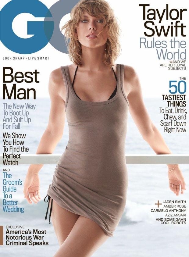 Okładka listopadowego wydania magazynu GQ