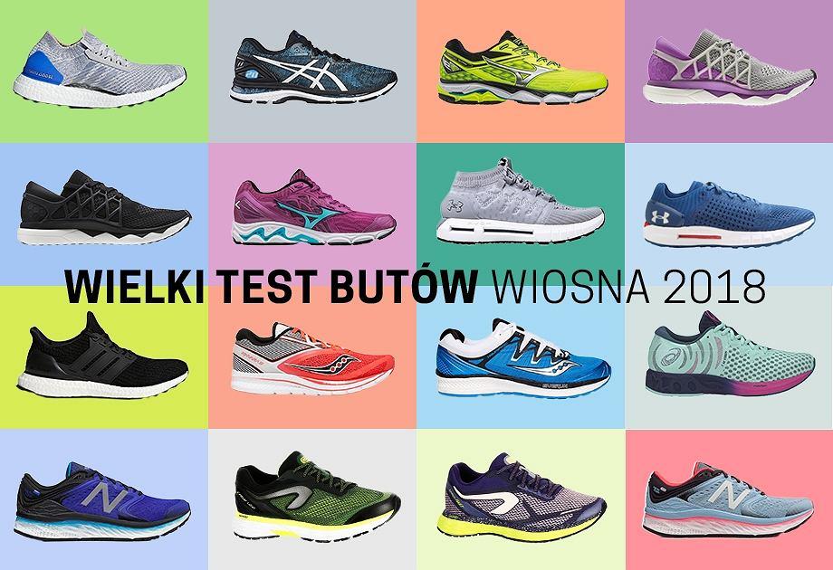 oryginalne buty szybka dostawa cienie Wielki test butów Polska Biega [KOLEKCJA WIOSNA 2018 - wyniki]
