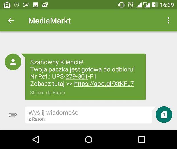 Przestępcy podszywają się pod Media Markt