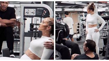 Trening Jennifer Lopez