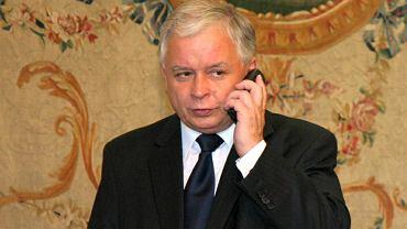 Lech Kaczyński, 2008 rok
